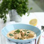 Supa suedeza de peste