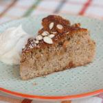 Prajitura cu pere, migdale si miere (fara gluten)